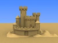 Sand Castle Large