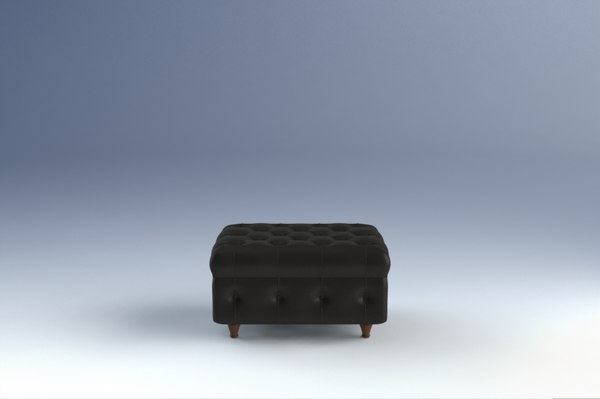 chester frau poltrona 3d model