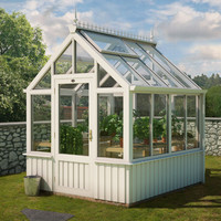 3d model of greenhouse plants