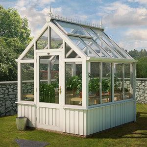 3d model of greenhouse plants