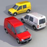 Compact Van 3Dmodel