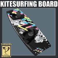 3ds max kitesurfing board