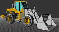 wheel loader 3dm