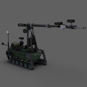 remotec wheelbarrow mk8 ii obj