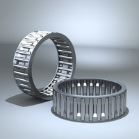 3d needle bearing model