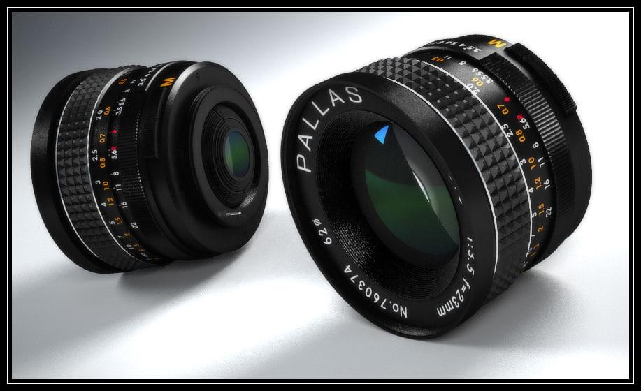 pallas lens m42 3d x