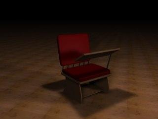 3d lecture desk