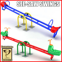 3d see-saw swings