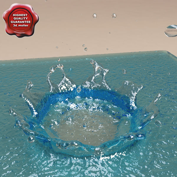 3ds water drop v2