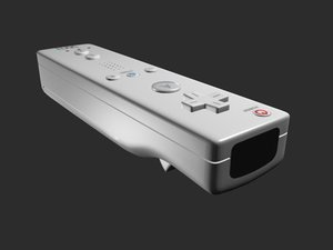 wii controller 3d max