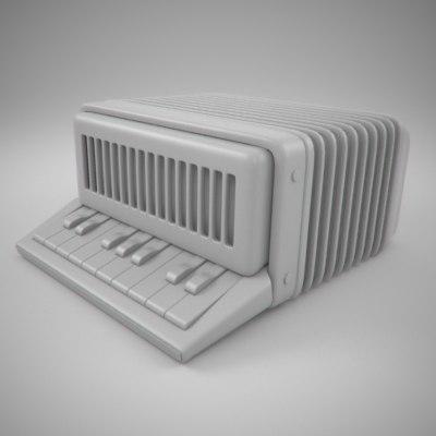 3d accordion