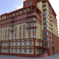 building house 3d model