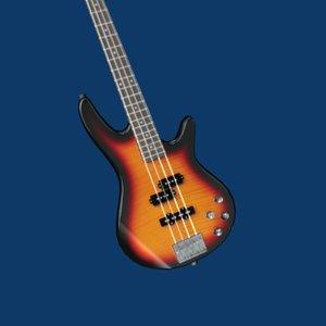 maya electric bass guitar