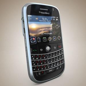blackberry bold 3d model