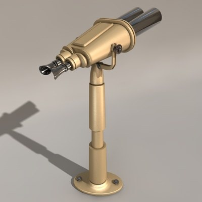 spy glass 3d model