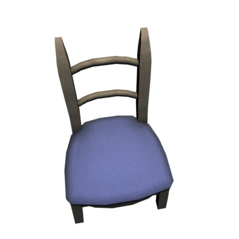 dining room chair 3ds