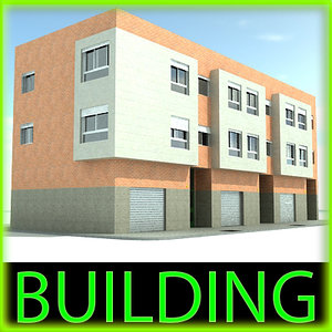 3d model building windows blinds