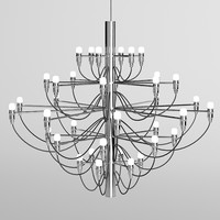 Flos 2097 chandelier chrome modern