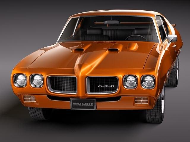 Gto Muscle Car Model