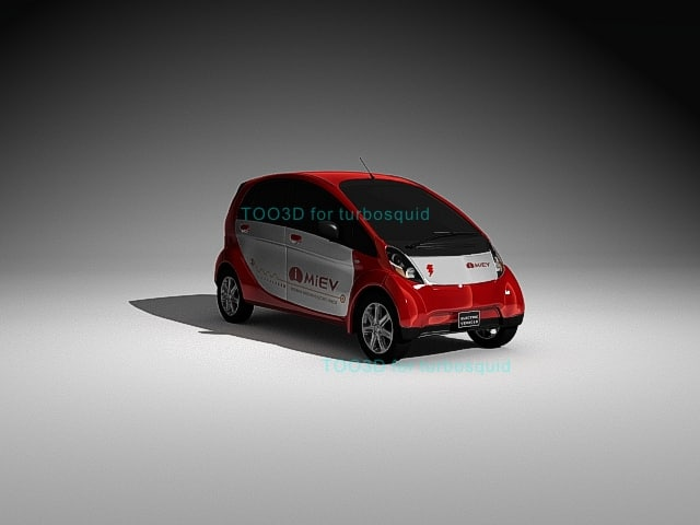 3d model imiev ion c0