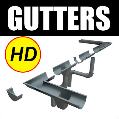 gutter roof architectural max