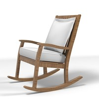 rock modern chair armchair outdoor