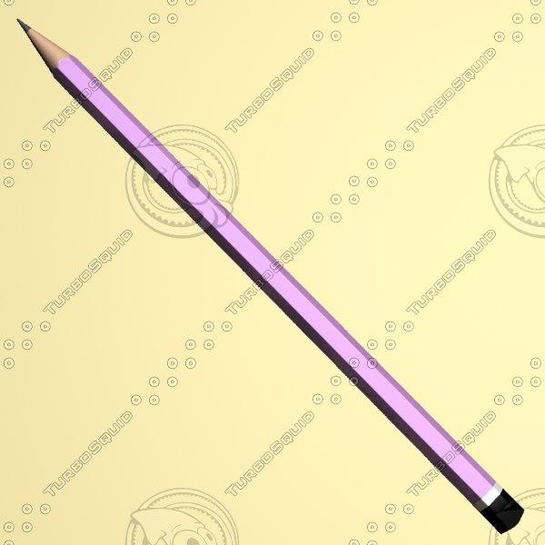 3d max pen pencil