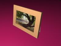 3d polly frame model