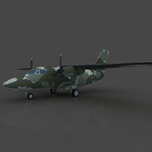 letov turbolet 3d model
