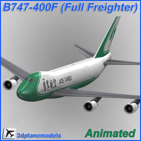 b747-400 jade cargo plane 747 max