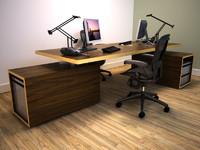 3d modular desking