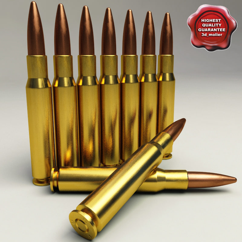 cartridge 50 bmg 3d max
