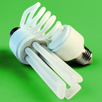 3ds max fluorescent light bulbs