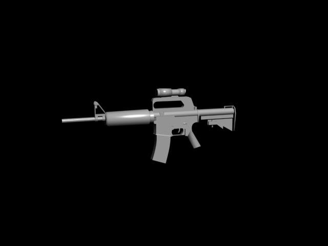 assault rifle 3ds