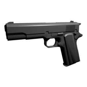 free blend model pistol colt 45 m1911