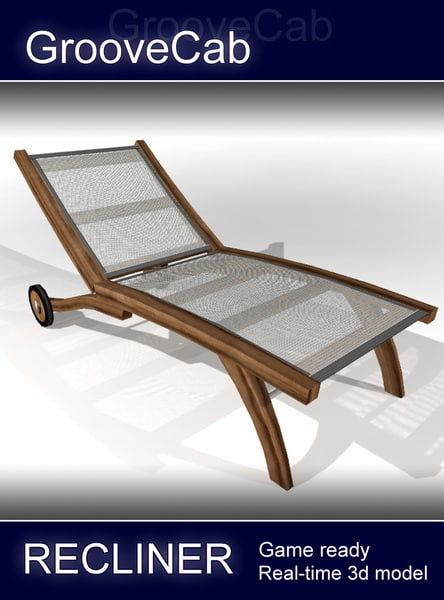 recliner chair 3d model