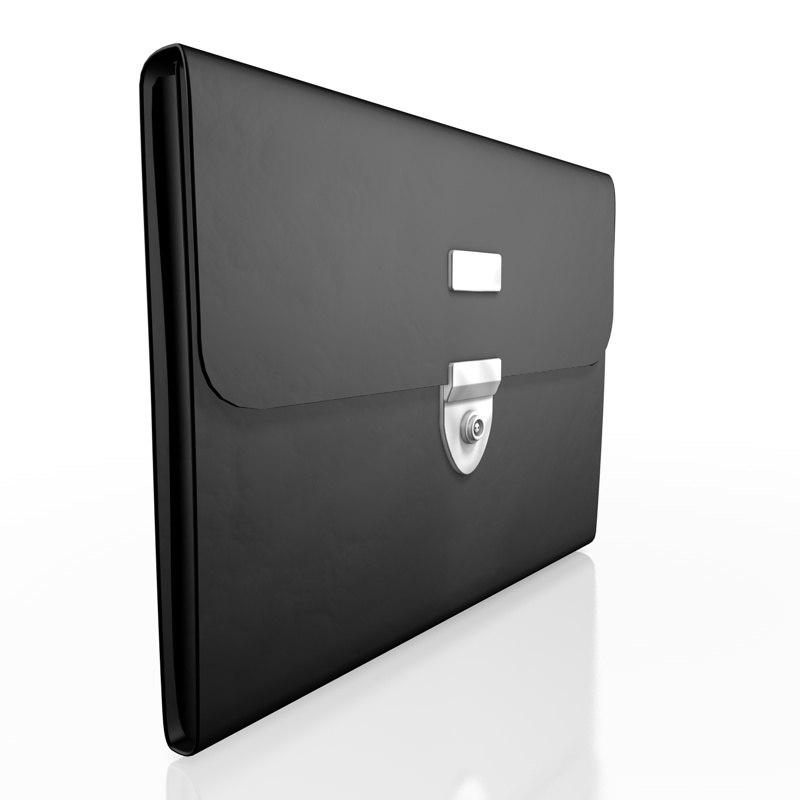 suitcase case office 3d model