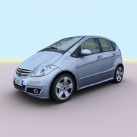 3d 2009 mercedes class model