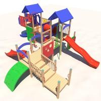 3d playground play model