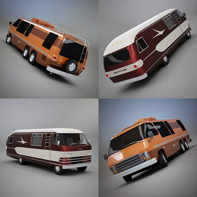 3ds max dodge motorhome