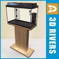 glass aquarium 3ds