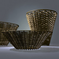 basket set 3d model