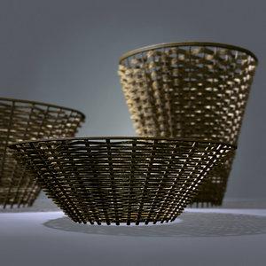 basket set 3d model