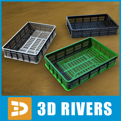 3ds set plastic containers