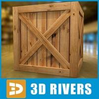 box container cargo 3d max