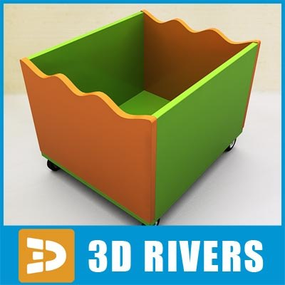 3dsmax plastic box