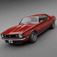 3d 1968 68 chevrolet model