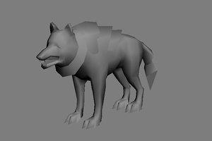 3d x wolf