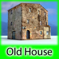 dirty old house 3d model