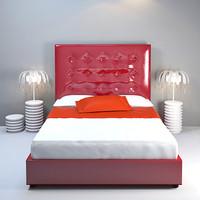 3d model modà bed